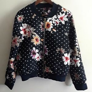 INA flower print jaket